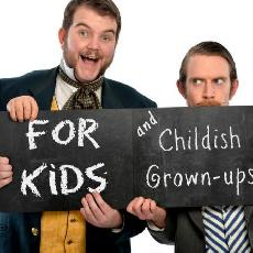 Morgan & Wests Utterly Spiffing Spectacular Magic Show For Kids (and Childish Grown-Ups)!