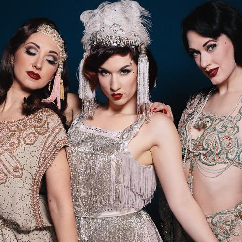 Gin House Burlesque - Spring Time Revue